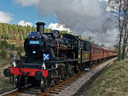 Spectacular Scenery & Steam on Scottish Railways