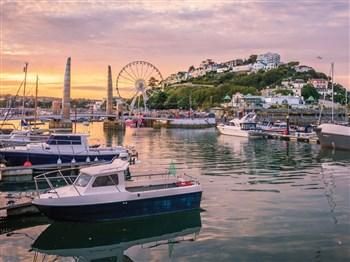 Torquay on the English Riviera