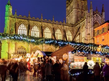 Bath Christmas Market, Somerset