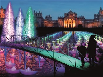 Blenheim Palace at Christmas, Oxfordshire
