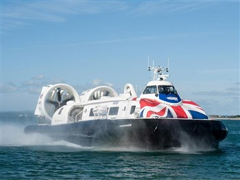 Hovercraft Experience & Lunch, Isle of Wight