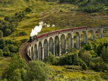 Scenery & Steam on Scottish Trains