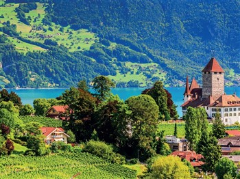 Lake Lucerne and The Bernese Oberland