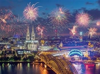 New Year Festivities on the Rhine River Cruise