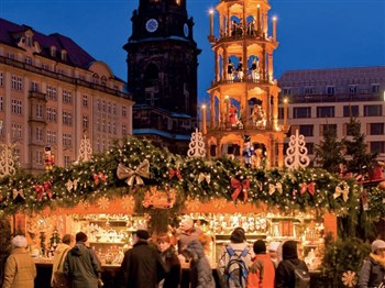 Christmas Markets of Rudesheim & Weisbaden Germany