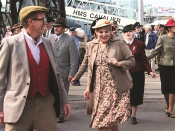 Salute the Forties at Chatham Historic Dockyard