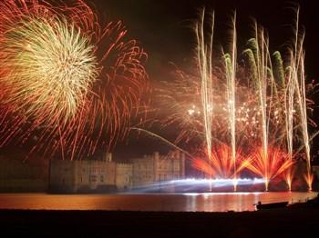 Leeds Castle Firework Spectacular, Kent