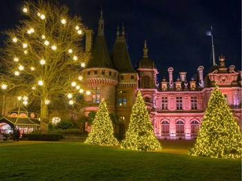 Waddesdon at Christmas with lunch