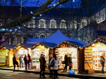 Winchester Cathedral Christmas Market, Hampshire