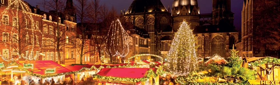 Christmas Markets of Aachen & Valkenburg