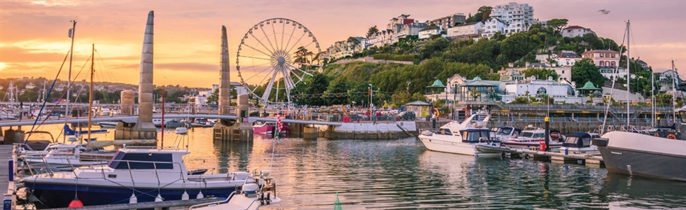 Torquay on the English Riviera